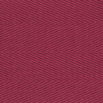 Ruby Cotton Herringbone