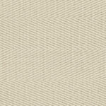 Cream Cotton Herringbone