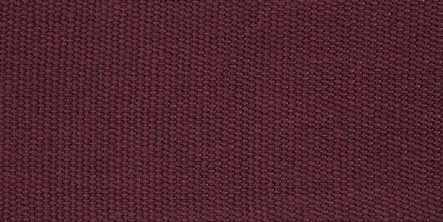 Burgundy Linen Basketweave
