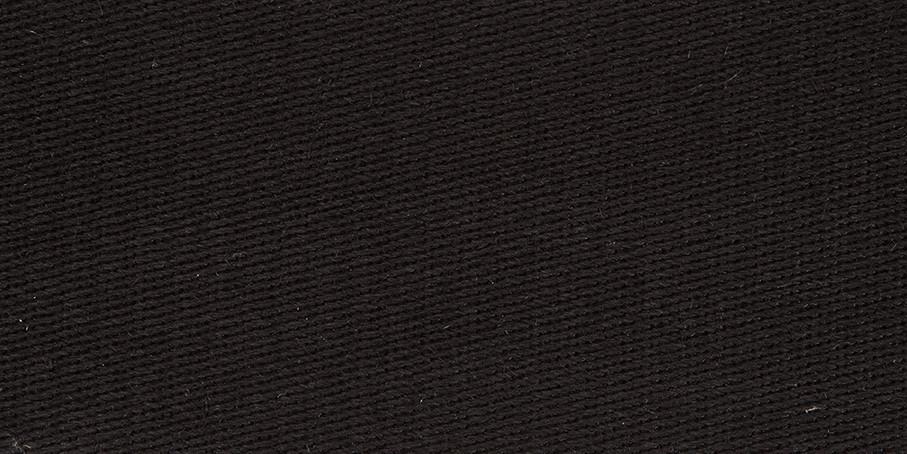 Black Linen Twill